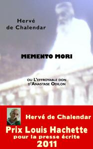 couverture Memento mori
