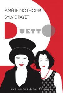 couverture Duetto Amélie Nothomb Sylvie Payet